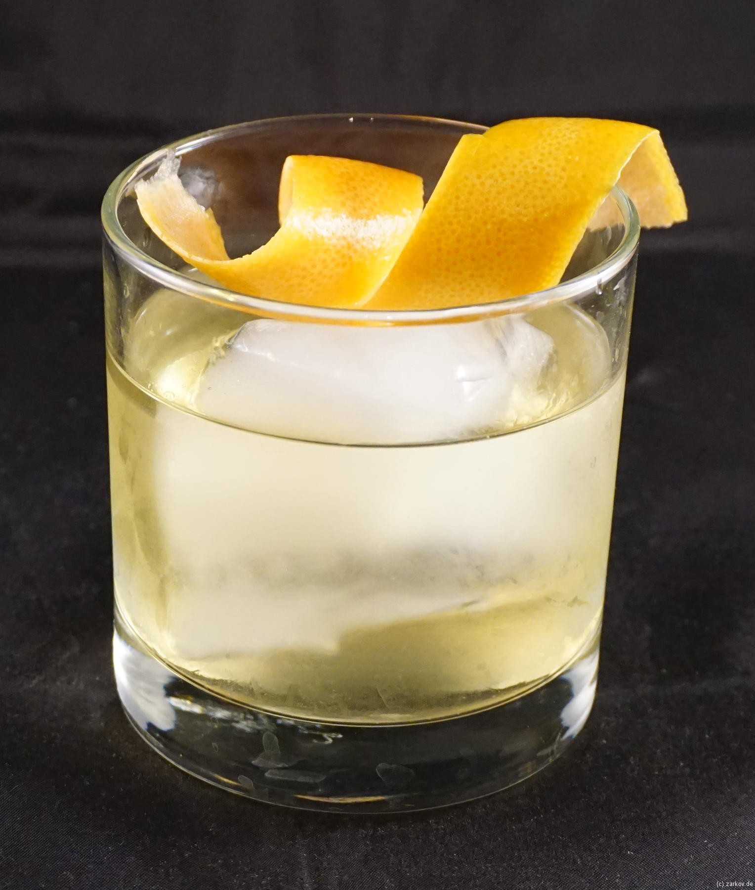 Elder Fashioned Cocktail